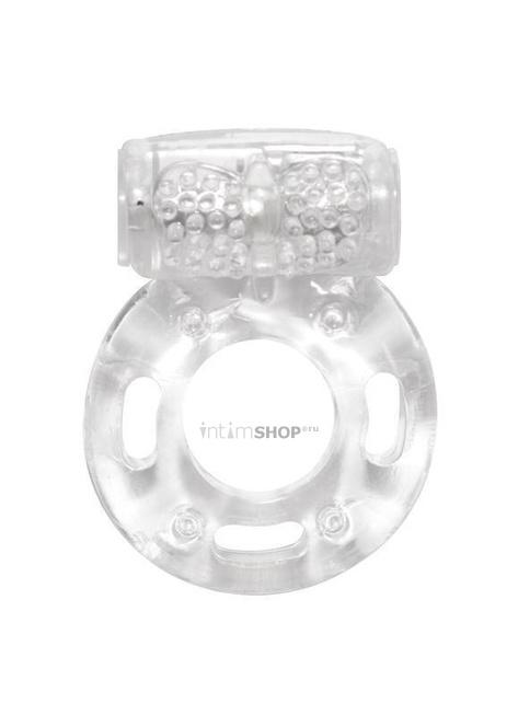 Эрекционное кольцо с вибрацией Rings Axle-pin, бесцветный