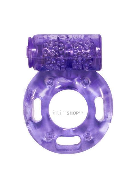 Эрекционное кольцо с вибрацией Rings Axle-pin, фиолетовый фото