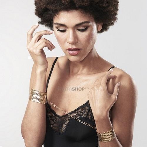 Bijoux Indiscrets Наручники металлические золотые