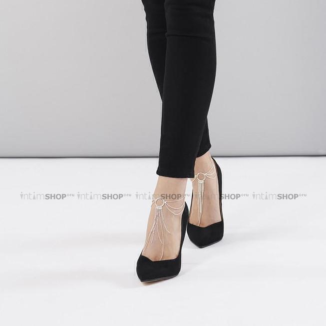 Цепочка на щиколотку Bijoux Indiscrets Magnifique Feet Chain - Silver