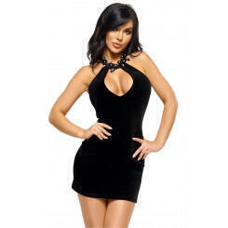 Сорочка Beauty Night Solange dress, Чёрный, S/M