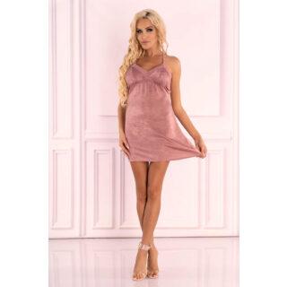 Сорочка LivCo Corsetti Fashion LC 90593 Ressia koszula, Розовый, L/XL