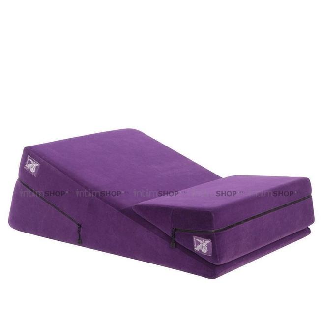 Liberator Wedge/Ramp Combo Подушка для любви комбо большая+малая,фиолетовая микрофибра