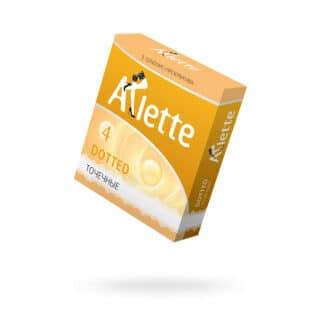 Презервативы Arlette Dotted, Точечные, 3 шт.
