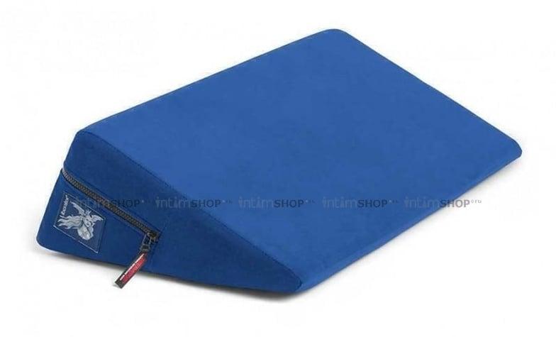 Liberator Retail Wedge Подушка для любви малая синяя микрофибра
