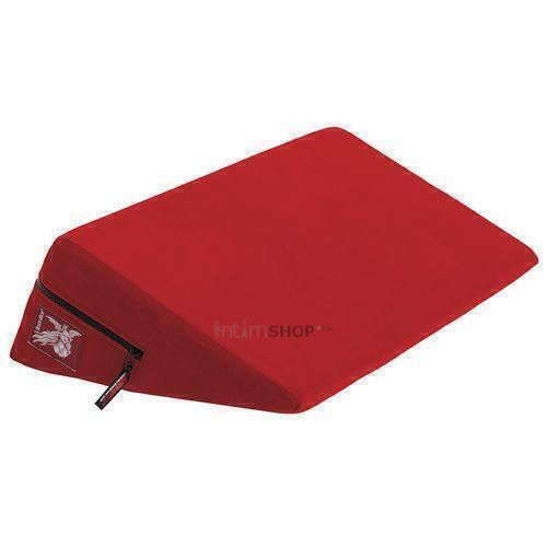 Liberator Retail Wedge Подушка для любви малая, красная микрофибра