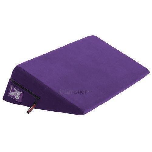 Liberator Retail Wedge Подушка для любви малая фиолетовая микрофибра