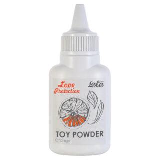 Пудра для игрушек Love Protection Orange, 15 гр