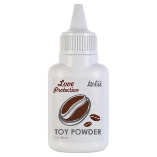 Пудра для игрушек Love Protection Coffee, 15 гр