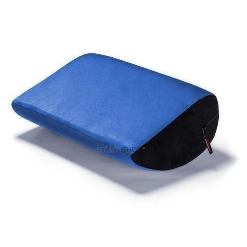 Liberator Retail Jaz Motion Подушка для любви малая, синяя замша