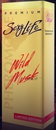 Духи SexyLife Wild Musk жен №8 10мл Biue Amber