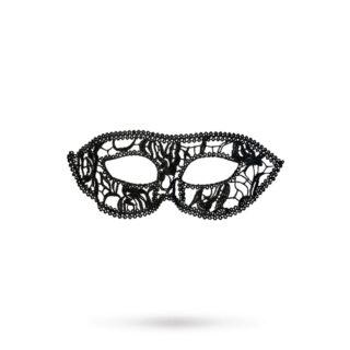 Маска нитяная Toyfa Theatre «Маскарад», текстиль, черная