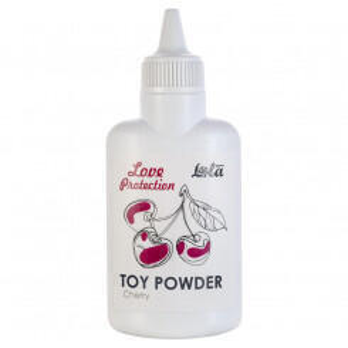 Пудра для игрушек Love Protection Вишня, 30 гр