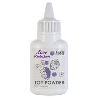 Пудра для игрушек Love Protection Лесные ягоды, 15 гр