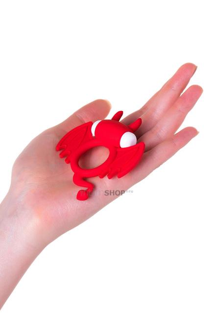 Эрекционное кольцо на пенис Jos Sweet Devil, красный
