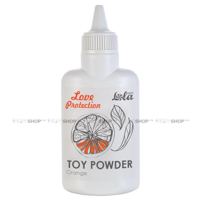 Пудра для игрушек Love Protection Orange, 30 гр
