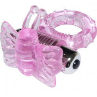 Виброкольцо розовое 7 Speed Butterfly Cock Ring Aphrodisia