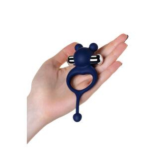 Виброкольцо с хвостиком Jos Mickey, синий, 12,5 см