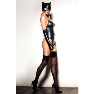 Ролевые костюмы Devil & Angel 7066(7032) Костюм кошечки, Чёрный, L