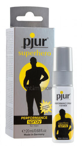Мужской спрей пролонгатор PJUR Superhero Performance Spray, 20 мл