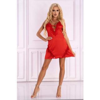 Сорочка LivCo Corsetti Fashion LC 90580 Landim koszula Red, Красный, S/M