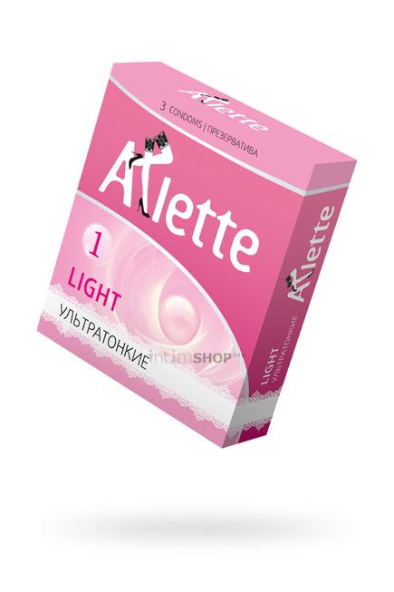 Презервативы ''Arlette'' №3, Light Ультратонкие 3 шт.