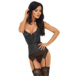 Корсеты Beauty Night Ileen corset, Чёрный, L/XL