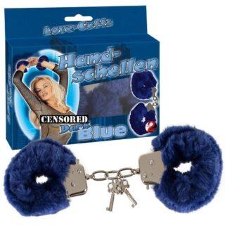 BDSM Наручники Hand schellen синие