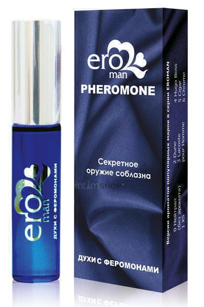 LB-17101M / Eroman №1 Мужские духи с феромонами флакон ролл-он 10г