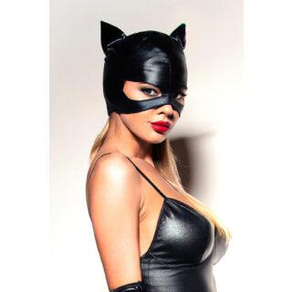 Ролевые костюмы Devil & Angel 7038 Маска кошечки, Чёрный, One size