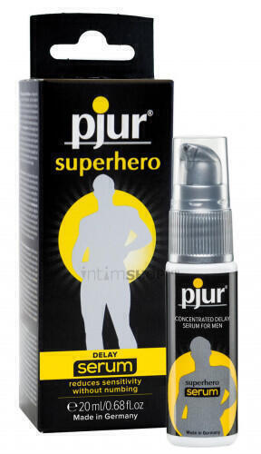 Сыворотка-пролонгатор для него PJUR Superhero Delay Serum, 20 мл