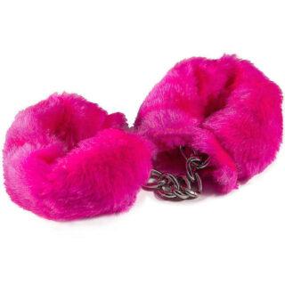 HAFTK001 - Наручники с искусственным мехом, цвет Розовый
