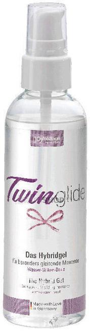Вагинальная смазка на водно-силиконовой основе Joy Division TWINglide Gel Hybrid, 100 мл