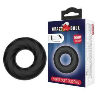 Baile Crazy Bull Super soft Эластичное эрекционное кольцо  Baile