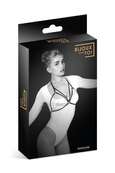 Bijoux Pour Toi Фиксация: упряжь на грудь Морган Harnais de corps elastique Morgane Bijoux pour toi фото