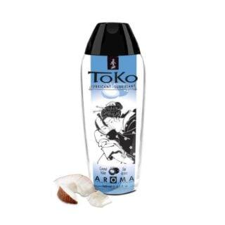 Интимный гель серии TOKO AROMA: аромат COCONUT WATER, 165 мл