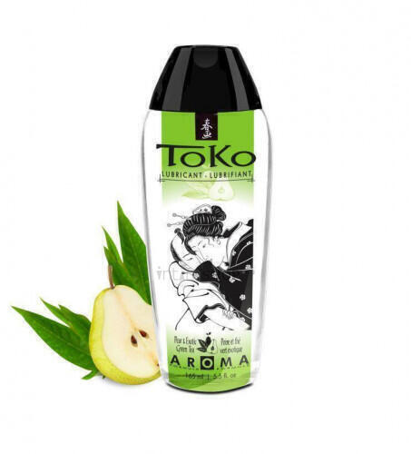 Интимный гель серии TOKO AROMA: аромат PEAR & EXOTIC GREEN TEA, 165 мл