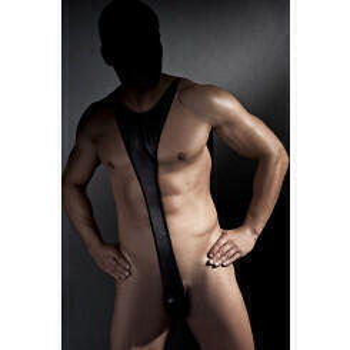 Мужское боди Anais Derrick body, Чёрный, 3XL