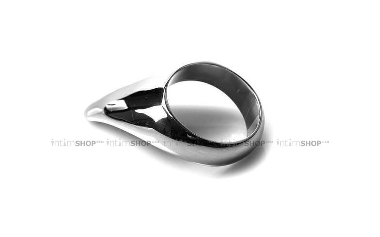 Металлическое эрекционное кольцо 45 мм Teardrop Cockring - 45 mm фото