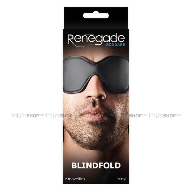 Маска-шоры на глаза Renegade Bondage - Blindfold, черная