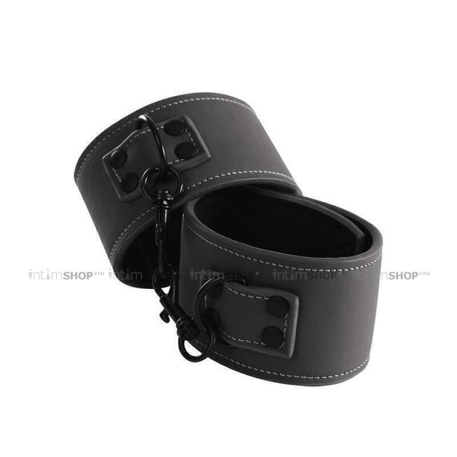 Наручники Renegade Bondage Wrist Cuff Black NSnovelties