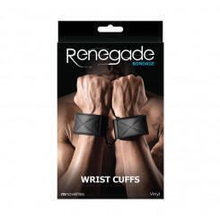Наручники Renegade Bondage - Wrist Cuff - Black NSnovelties
