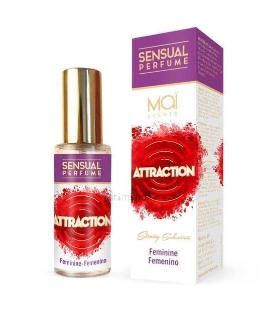 Женский парфюм с феромонами FEMININE PERFUME WITH SENSUAL ATTRACTION (MAI PHERO ATTRACTION) 30ML MAI COSMETICS