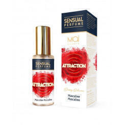 Мужской парфюм с феромонами MASCULINE PERFUME WITH SENSUAL ATTRACTION (MAI PHERO ATTRACTION)  30 ML MAI COSMETICS