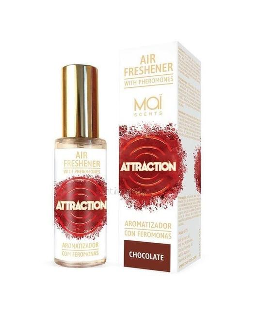 ОСВЕЖИТЕЛЬ ВОЗДУХА с феромонами (шоколад) 30 мл AIR FRESHENER WITH PHEROMONES (MAI ATTRACTION) CHOCOLATE 30 ML MAI COSMETICS