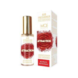 MAI ATTRACTION ОСВЕЖИТЕЛЬ ВОЗДУХА с феромонами (красные фрукты) 30 мл AIR FRESHENER WITH PHEROMONES (MAI ATTRACTION) RED FRUITS