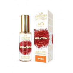 MAI ATTRACTION ОСВЕЖИТЕЛЬ ВОЗДУХА с феромонами (манго) 30 мл AIR FRESHENER WITH PHEROMONES (MAI ATTRACTION) MANGO 30 ML MAI COSM