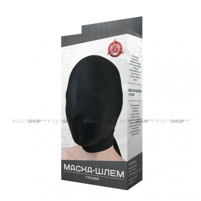 Маска-шлем МиФ глухая, чёрная, OS фото