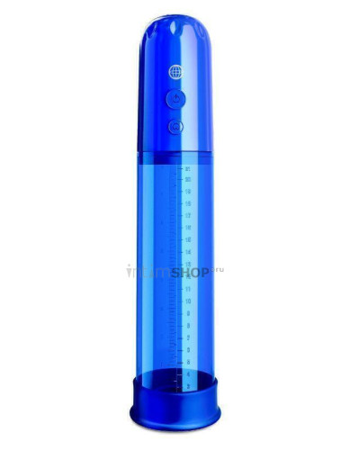 Автоматическая вакуумная помпа Pipedream Classix Auto-Vac, синяя