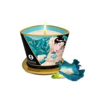 Свеча с массажным маслом Shunga Island Blossoms, 170мл